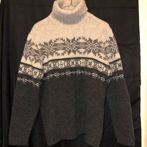 Gap Fair Isle Turtleneck